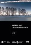 Portada Anuario SINC 2013