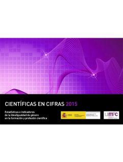 Portada Científicas en Cifras 2015