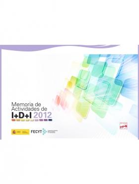 Portada Memoria IDI 2012