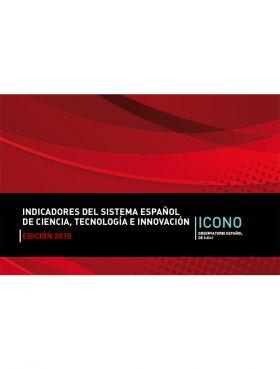 Portada Indicadores del Sistema Español de Ciencia, Tecnología e Innovación