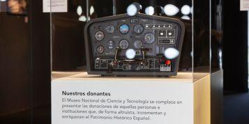 Simulador de vuelo MUNCYT