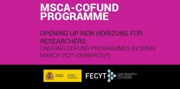 FECYT publica el catálogo de convocatorias Marie Skłodowska Curie Actions-COFUND (MSCA-COFUND)