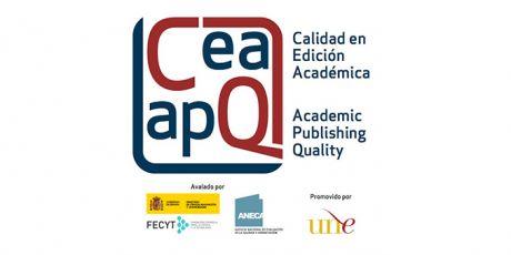 Entrega de los certificados del sello de calidad en edición académica CEA-APQ, obtenidos en la convocatoria de 2019