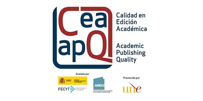 Cuatro colecciones obtienen el Sello de Calidad en Edición Académica CEA-APQ, acreditando su calidad científica y editorial