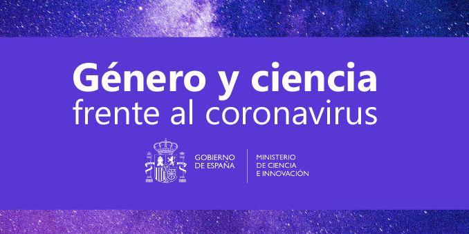 FECYT colabora en el informe 'Género y ciencia frente al coronavirus'
