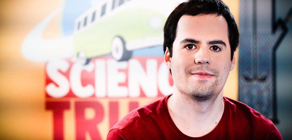 Martí Montferrer en el séptimo programa de 'Science Truck'