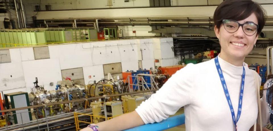 Una estudiante española en el mayor laboratorio europeo de física