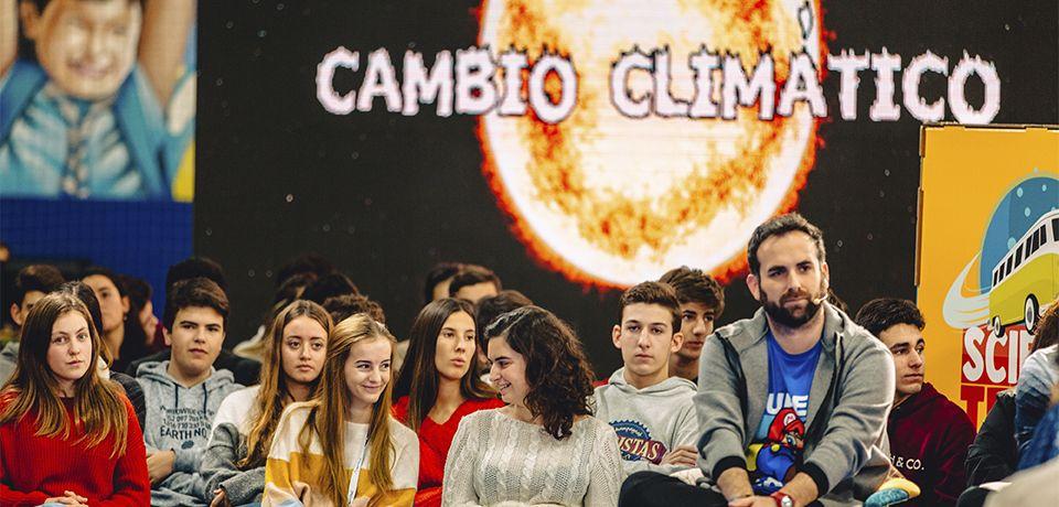 Science Truck emite un programa especial sobre el cambio climático
